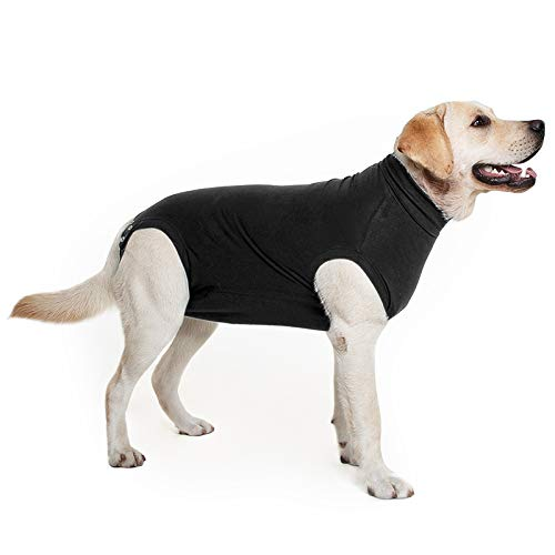 Suitical Recovery Suit Hund, M+, Schwarz
