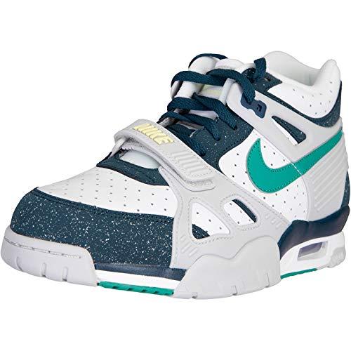 Nike Air Trainer 3 Sneaker Schuhe (White, Numeric_45)