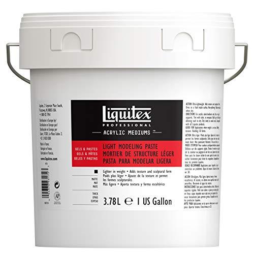 Liquitex Basics Matt Aditivos, acrílico, pasta para modelar ligera, 3.78 l