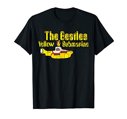 披头士黄潜艇标志T恤
