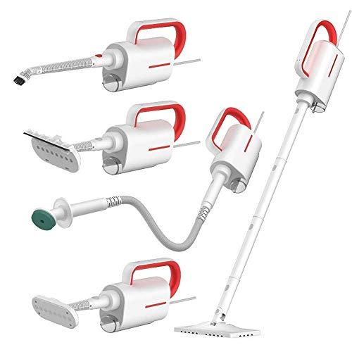 LTLJX Multifuncional portátiles Aspiradoras Limpiador de Vapor domésticos de Home + Accesorio 5 Moldes Eliminación del Polvo LUDEQUAN