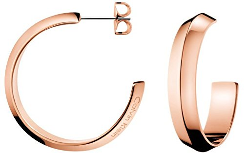 Calvin Klein Pendientes de aro Mujer acero inoxidable - KJ4TPE100100