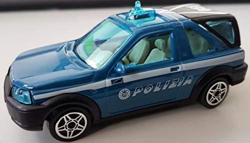 Modellini auto, Burago, scala 1:43, LAND ROVER Polizia