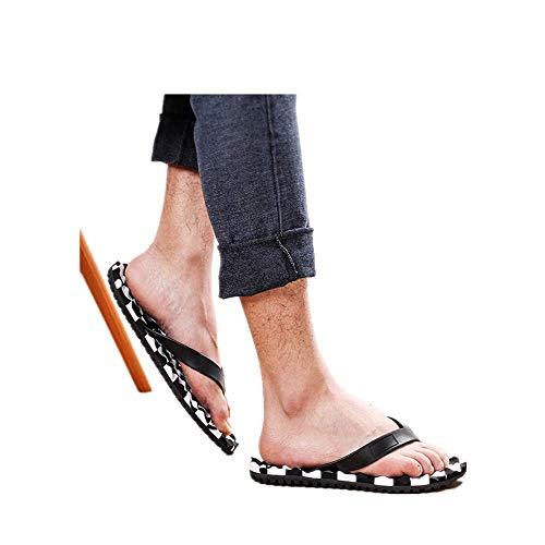 BSTLY Chancletas para Exteriores para Hombre Zapatos De VeranoSuela De Moda Sandalias