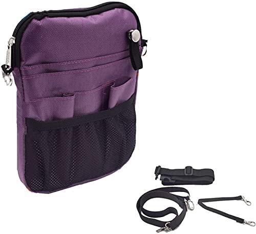 Bolso de la cintura Caja Enfermera Fanny Pack, con múltiples bolsillos y compartimento, Nurse Vet Fouch Bag Bols Bag Pocket Pick Pick Organizador con cinturón ajustable, organizador de bolsill