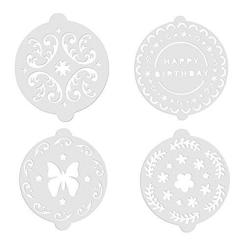 Kitchen Craft - Plantillas Decoracion, Set de 8 Unids