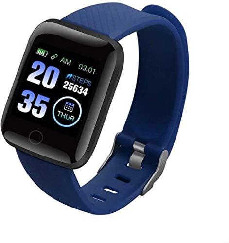 Reloj inteligente 1 3 con pantalla táctil completa, impermeable, IP68, con monitor de ritmo cardíaco y monitor de sueño, contador de distancia