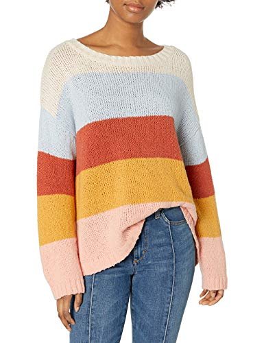 BILLABONG Damen Lost Paradise Crew Neck Sweatshirt Pullover, Multi, Medium