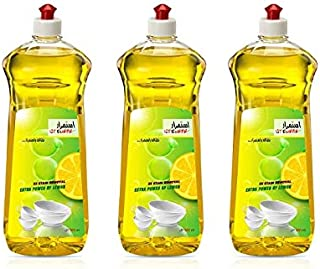Istemrar Dishwashing Liquid with Extra Power of Lemon 500ml 1+2