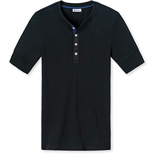 Schiesser Revival - Das Original - Shirt 1/2 Karl-Heinz - Schwarz (L)