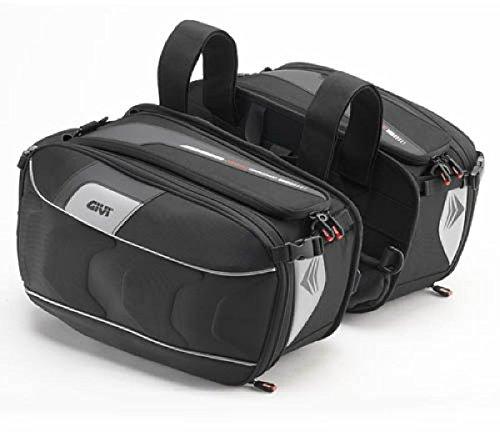 Givi XS314 XSTREAM-Bag-Satteltaschen schwarz aus Cordura 25 Liter Volumen/Max. Zuladung 5 kg a Tasche