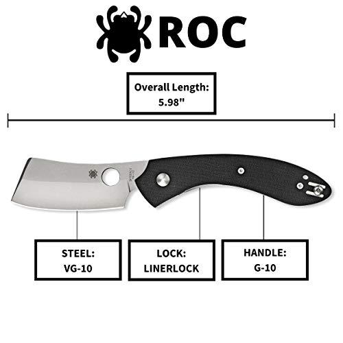Spyderco Roc Specialty Folding Knife with 3.10