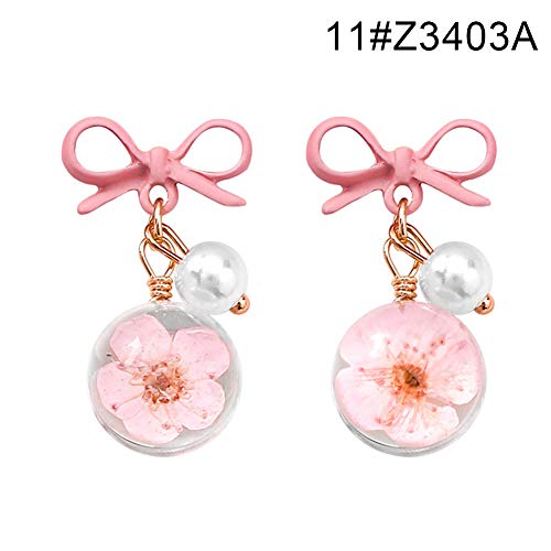 LovePlz Sweet Women Flower Heart Geometric Dangle Ohrentropfen Ohrstecker Schmuck Geschenk Ästhetische Ohrringe Für Frauen Für Mädchen 11#