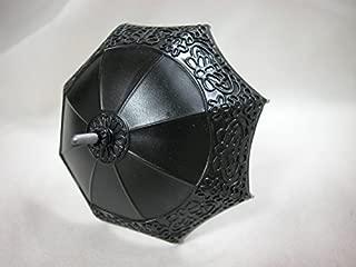 Heidi Ott Dollhouse Miniature 1: 12 Scale Black Umbrella #XZ789 Black