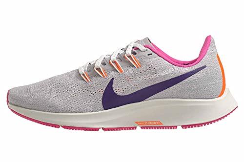 Nike Womens Air Zoom Pegasus 36 Running Shoes Wolf Grey/Regency Purple 9