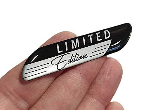 decal arts Emblema autoadhesivo de silicona de gel 3D edición limitada para el panel del coche del cuerpo del coche