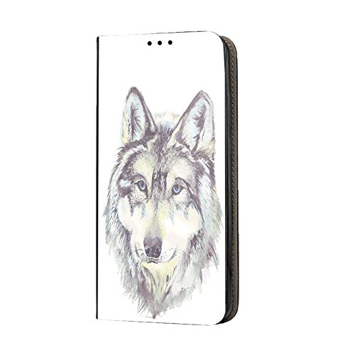KX-Mobile Samsung Galaxy S3 / S3 Neo Hülle - Handyhülle für Samsung Galaxy S3 / S3 Neo - Handycover aus Kunstleder Motiv 1010 Wolf Schutzhülle Smart Klapphülle Hülle