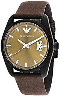 Emporio Armani Men's AR6081 Sport Brown Leather Watch