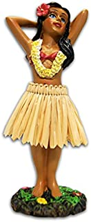 KC Hawaii Hula Girl Posing Mini Dashboard Doll 4.4 inches