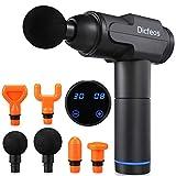 Dicfeos Massage Gun, Handheld Massage Gun with 6 Heads, Easy Operation and Lightweight, Long Working Time, 30 Speeds
