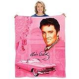 Elvis The King Presley Pink Cadillac Cozy...