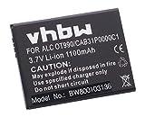 vhbw Li-Ion Akku 1100mAh (3.7V) für Handy Smartphone Handy Alcatel One Touch OT-4033E, OT-4033X, OT-903, OT-903D, OT-908 wie CAB31P0000C1, BY71.