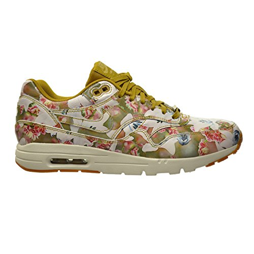 Nike Air Max 1 Ultra LOTC QS Milano Women's Shoes Bronzine/Summit White-Metallic Gold 747105-700 (6.5 B(M) US)