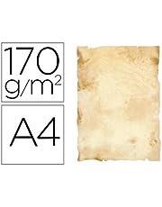 Liderpapel 78502 - Pack de 8 hojas de papel pergamino, A4