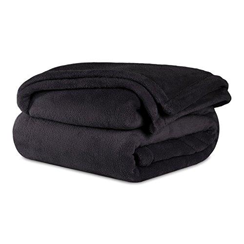 Berkshire Blanket Serasoft Throw, Black