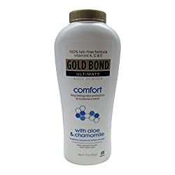 Gold Bond Ultimate Comfort Body Powder with Aloe
