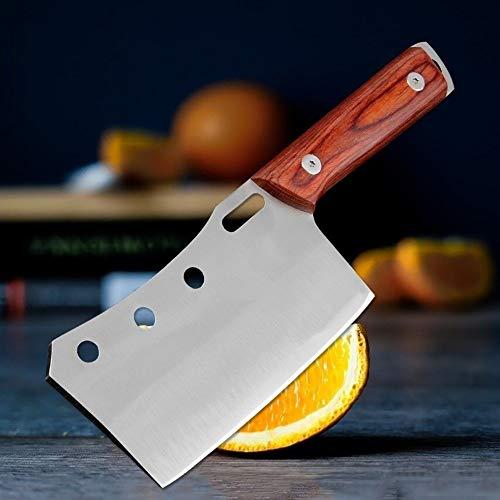 Acero inoxidable cuchillo de la fruta al aire libre casero Mini cuchillo de cocina de utilidad multifunción de alta dureza barbacoa portátil Herramientas