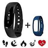 Fitness Heart Rate Tracker,CAMTOA ID101HR Wireless Fitness Monitor,Smart...