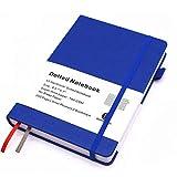 Dotted Journal Bullet Notebook,Hard Cover, Medium...