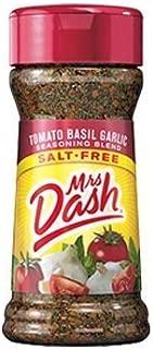 Mrs. Dash Tomato Basil Garlic Salt Free Seasoning Blend 2oz Bottle (Pack of 3)
