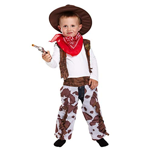 D/UP TODDLER COWBOY 3 YRS