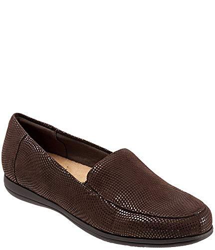 [トロッターズ] シューズ 25.0 cm パンプス Deanna Mini Dots Leather Slip-On Loafers Dark Brown レディース [並行輸入品]