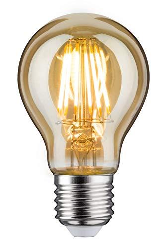 Paulmann 283.73 LED AGL 7,5W E27 230V Gold Warmweiß 28373 Allgebrauchslampe Leuchtmittel Glühlampe Lampe