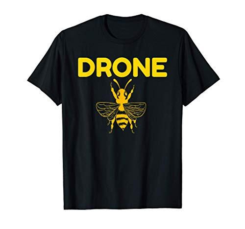 Drone Bees Pilot Quadcopter RC Beekeeping Honey Gift Novità Maglietta