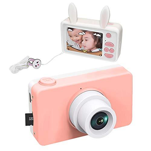 【キッズカメラ C1WiFi】子供用カメラ 子供用デジタルカメラ トイカメラ 2400万画素 2.0インチIPS画面 4倍ズーム 写真をスマホにwifi送信 プレゼント 日本語取扱説明書32GB SDカード付き 子供の日 誕生日 知育 子供プレゼント (ピ