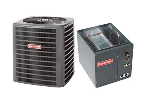 Goodman 3 Ton 16 SEER AC R-410a with Upflow/Downflow Coil 14' wide...