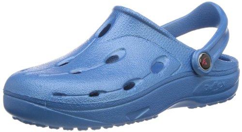 chung shi Unisex - Erwachsene Clogs, Dux BIO,Mykonos Blue,43 EU