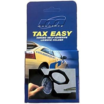 Streetwize SWLH2 Aluminium Tax Disc Holder Black