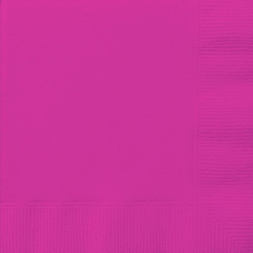Papierservietten, Neon-Violett, 20 Stück 6.5