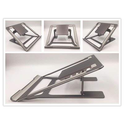 ADSIKOOJF Notebook Tafel Aluminium Draagbare Beugel Desktop Computer Plank Opvouwbare Multifunctionele Basis Koeling Bureau Laptop Stand
