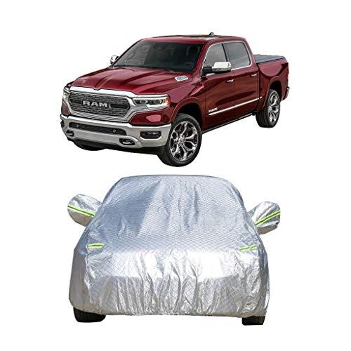 Couverture de voiture Dodge Ram 1500 Car Spécial Couverture de voiture Pick-up Spécial épais Oxford Tissu Protection contre le soleil Pluie Et Antigel Chaud Couverture De Voiture