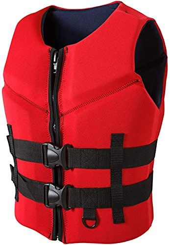 YZJL Chaquetas y Chalecos salvavidasChaleco de flotabilidad Profesional de Alta flotabilidad para Pesca anticolisión para esquí acuático, Rafting, Buceo, Motor, Bote, Chaleco Salvavidas