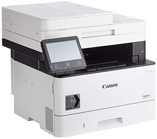 Canon MF449x - Impresora láser monocromática, Color Blanco