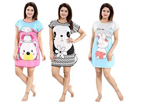 YKI ® Women's Polyester Blend Hosiery Short Cartoon Print Above...