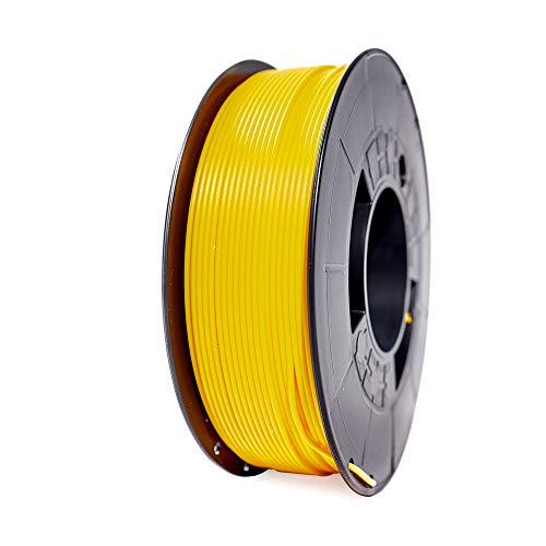 Winkle Filamento PLA HD, 1.75 mm, Amarillo Canario, Filamento para Impresión 3D, Bobina 300 gr