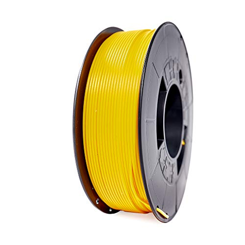 Winkle Tenaflex Filament, 1.75 mm, Canary Yellow, 3D Printing Filament, 200 g Spool